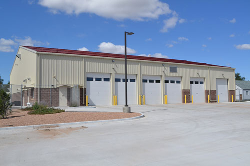 Metal Buildings for Transportation and Service